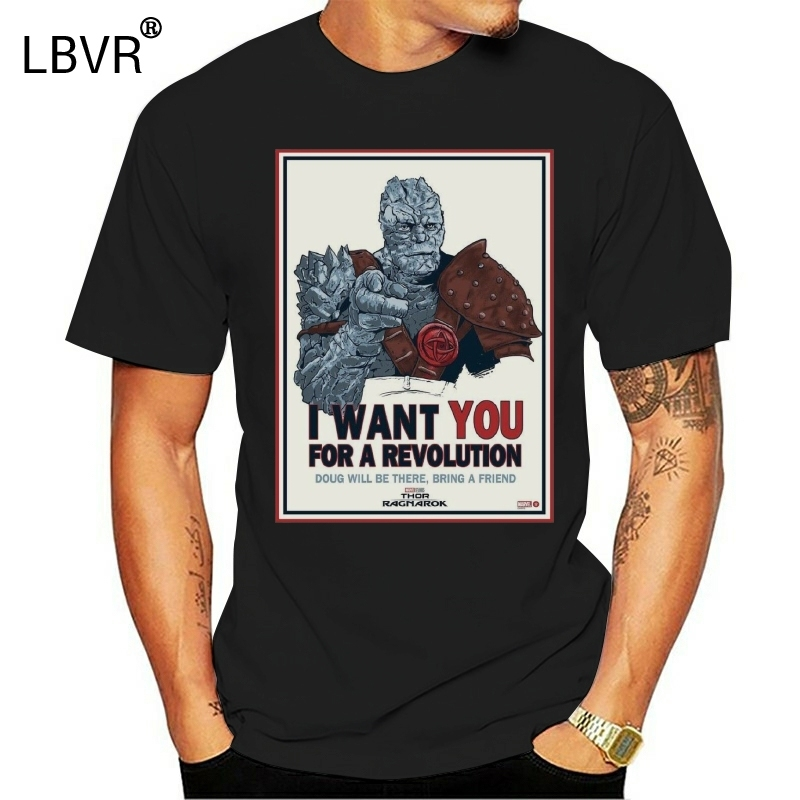 New Thor Ragnarok Doug Revolution T Shirt T Shirts Aliexpress