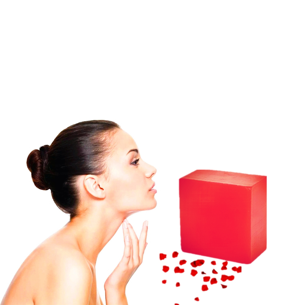 Vitamin C Plant Essence Anti Aging Replenish Water Soaps 100g Eliminate Skin Toxin Whitening Brighten Handmade Rose Soaps 100g
