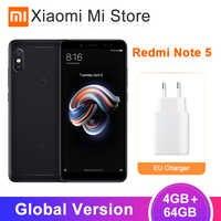 Ursprüngliche Globale Version Xiaomi Redmi Hinweis 5 4GB 64GB Snapdragon 636 Octa Core SmartPhone 5,99 Full Screen dual Kamera 4000mAh