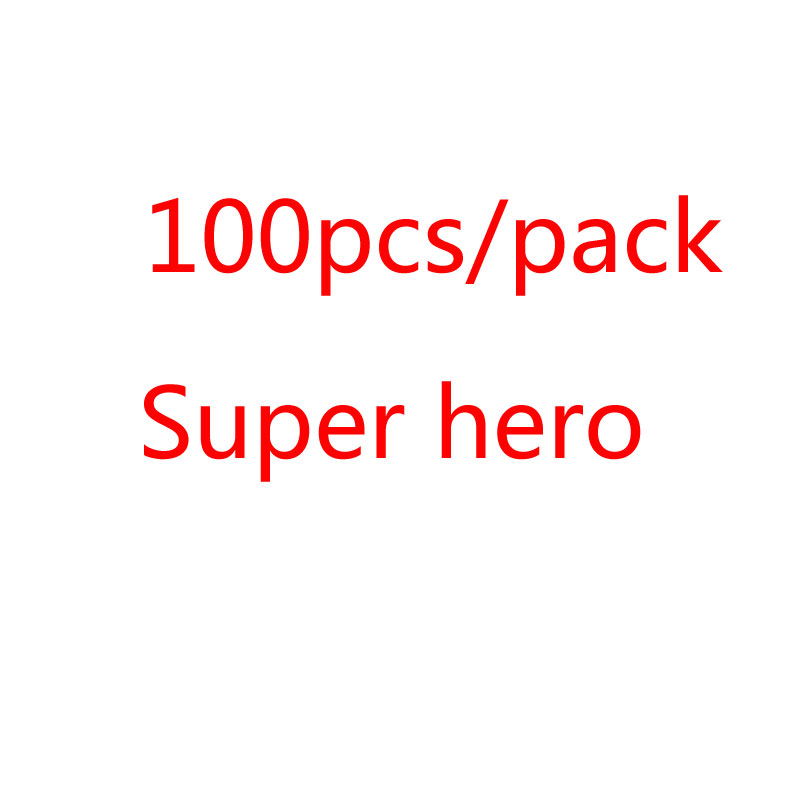 100Pcs/Lot Cartoon Cute Super Hero Stickers Graffiti Decals Bomb Sticker Pack For Kids Gift Toy Skateboard Luggage Laptop(China)