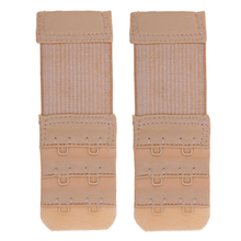 2 Pcs Bra Extender Extension Elastic Hooks Clip On Strap Soft Band Extend Adjustable Belt Buckle Underwear