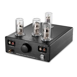 Image 2 - Douk אודיו קטן דוב T11 6N2/12AX7 צינור ואקום Phono פטיפון קדם מגבר HiFi מגבר מראש MM RIAA פטיפון מגבר קדם