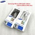 Оригинальный кабель Micro USB Samsung, кабель 100/150/200 см для Galaxy S6 S7 Note 4 5 J3 J5 J7 A3 A5 A7 2016, быстрая зарядка, 2 А, кабель передачи данных