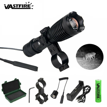 5w IR-940nm LED Zoomable Night Vision Infrared Radiation Flashlight Torch Lamp Light Rechargeable 18650 Battery 18650 ir night vision flashlgith 5w 940nm 5w 850nm led zoomable infrared radiation lantern tactical hunting torch gun mount
