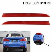 Fog-Light Rear-Bumper-Reflector F30 F31 Sport-Package 3-Series BMW for 316 318 328 330-Year-11-19