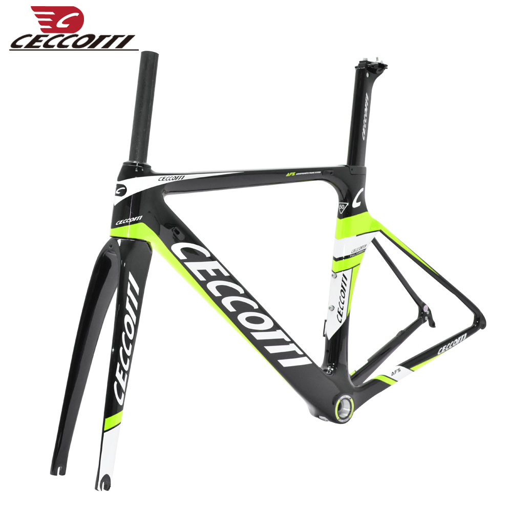 2019 DC006  Carbon Road Frame Toray T800 Frame+fork+seatpost+clamp+headset Carbon Bike Frame BSA Bike Accessories Custom Designs