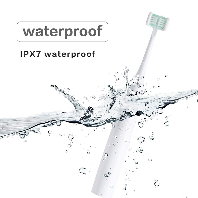 Triple Sonic Electric Toothbrush Whiter Teeth USB Rechargeable 40000 VPM 3D Tooth Brush Fully Wrapped Design IPX7 Waterproof