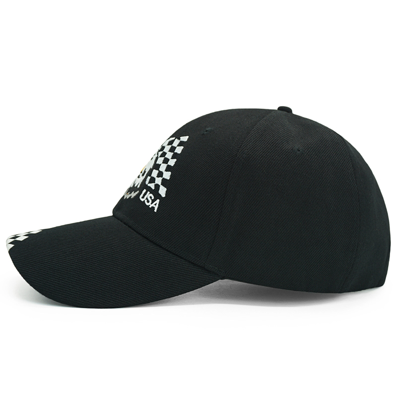 After This Were Getting Pizza Pure Color Peaked Hats Trucker Hat Fits Unisex Black