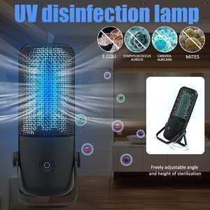 Sterilizer-Lamp Ozone Clean Quartz UVC Ultraviolet Air-Mite Household