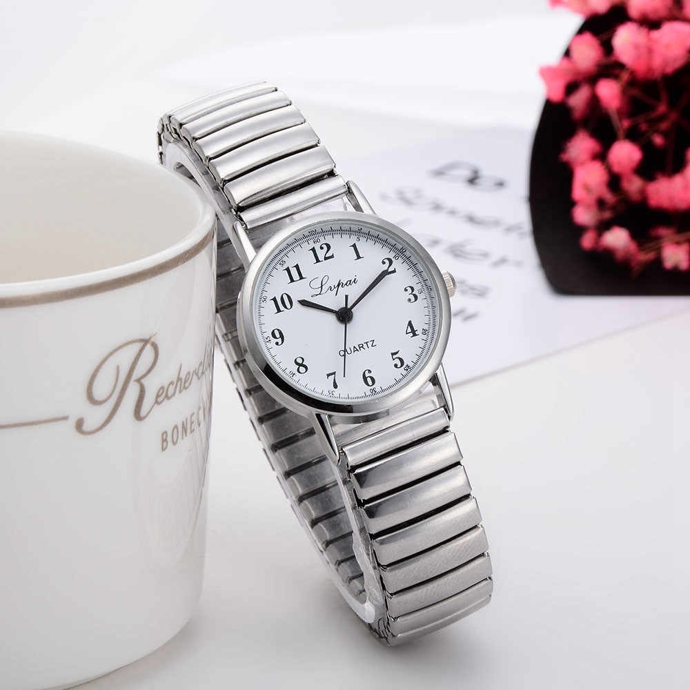 Silver Watch Women Watches  With Metal Bracelet for Wome Ladies Watch Quartz Women Watches Waterproof zegarek damski bransoleta