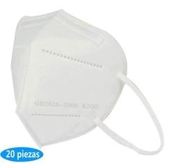 20pcs Cubierta perfecta Mejor filtro Máscara  Alto nivel de protección Máscara antivaho con diseño innovador y moderno
