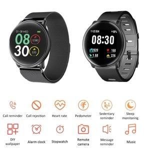"Image 3 - Uwatch2 חכם שעון 1.33 ""IPS 240*240 תצוגת BT4.0 כושר מד צעדים קלוריות חכם טיימר לב קצב שינה Monitori שעוני יד"