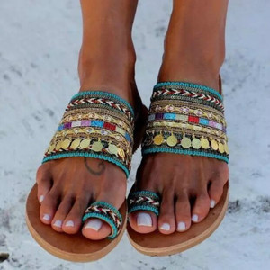 2019 women summer outside slides slippers flip flops summer shoes woman stylish clop toe gladiator footwear flat with sandals