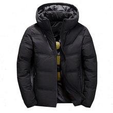 Bolubao Winter Down Parka Heren Kwaliteit Thermische Dikke Parka Mannelijke Warm Uitloper Mode Witte Eend Donsjack Mannen Jassen