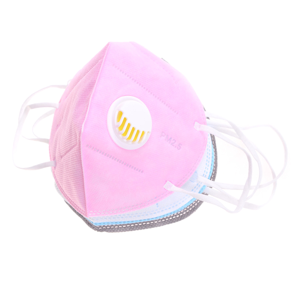 Dust-proof Mask Breath Valve Facial Protective Cover Ear-loop Face Mouth Masks OUJ99