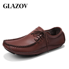 Brand Men Moccasins Men Shoes Slip On Spring Summer Men Loaf