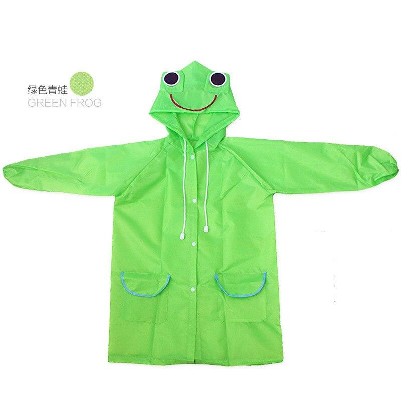 PPXX Cartoon Children Raincoat Kid Jacket Waterproof Outfit Rain Cover Baby Kids Poncho Cloak Hoody Coat Toddler 5