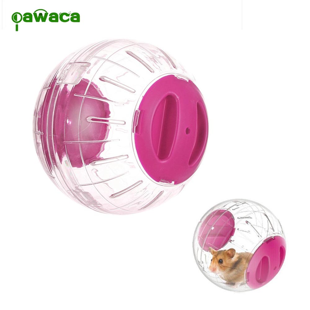 Pet Funny Running Ball Plastic Hamster Exercise Ball Silk Bear Crystal Running Ball Rolling Ball Toy Transparent Wheel Supplies
