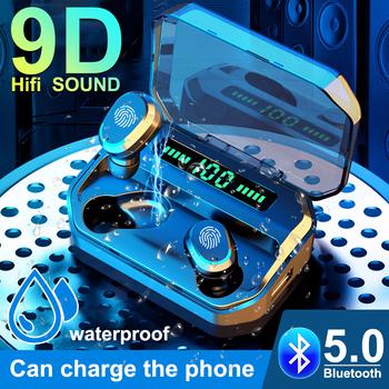 TWS bezprzewodowe słuchawki Bluetooth słuchawki Stereo LED Power Digital Display słuchawki douszne sportowe zestawy słuchawkowe z mikrofonem do smartfonów tanie i dobre opinie Oppodas Rohs NONE Ortodynamiczna CN (pochodzenie) wireless Do gier wideo Zwykłe słuchawki Słuchawki HiFi instrukcja obsługi