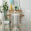 Большие современные двухслойные скатерти комод шарфы с несколькими кисточками современный минималистичный стиль