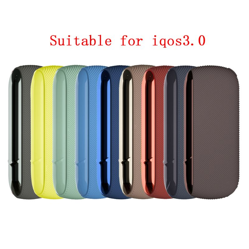 9 Colors Fine Twill Silicone Side Cover Full Protective Case Pouch For IQ-OS 3.0 NEW