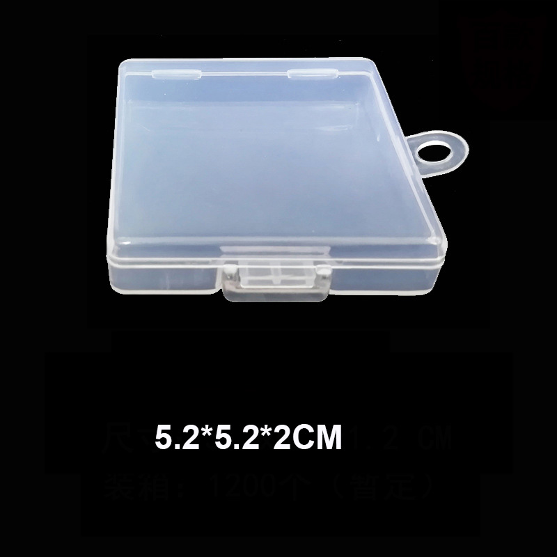 Image 3 - SD TF Transparent Memory Card Holder Component PP Packaging Box Plastic Environmental Protection PP Hook Box Memory Card Cases-in Memory Card Cases from Computer & Office