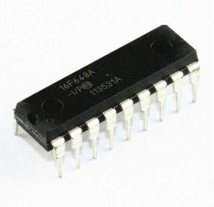 1 pièces/lots PIC16F648A-I/P PIC16F648A PIC16F648 16F648A-I/P DIP-18 microcontrôleur PIC 8 bits