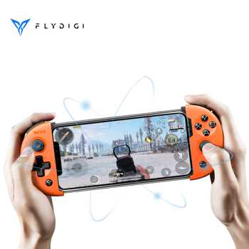 Flydigi GamePad Wee2T for PUBG for IOS Android Bluetooth Wireless Flashplay 6-axis Game Controller Joypad Adjustable Gamepad flydigi wee gamepad wireless bluetooth stretchable gamepad game joystick handle controller for android ios