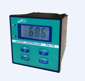 PH Meter Acidity Meter PG-118, PH Controller, Online PH Meter ORP Redox
