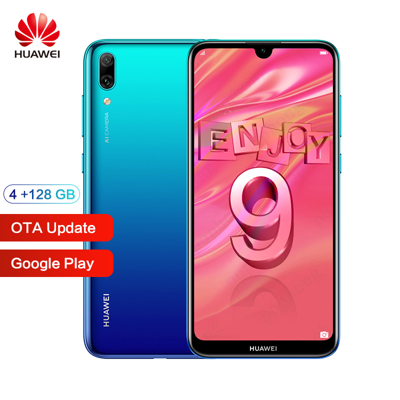 Huawei Y7 Pro ROM globale 4GB 128GB 6.26 pouces Snapdragon 13MP 450 Octa Core Android 8.1 profiter de 9 Smartphone 4000mAh double carte