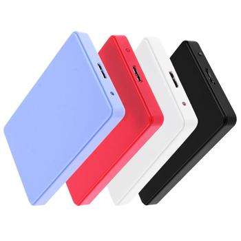 2.5inch USB3.0 SATA Enclosure Adapter Box 3TB High Speed Portable HDD Hard Drive SSD External Enclosure Case for PC Laptop