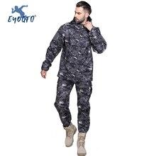 Waterproof Thermal Ski Jackets + Snowboard Pants Men Sport Warm Winter Camouflage Jacket Set Suit Pant Windproof Snow