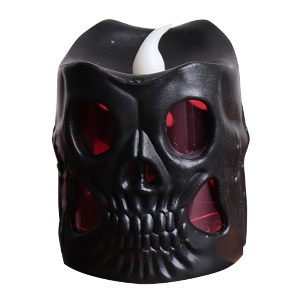 HOT LED Skull Candle Light Decoration Night Lamp For Halloween Club Party Festival LSF99