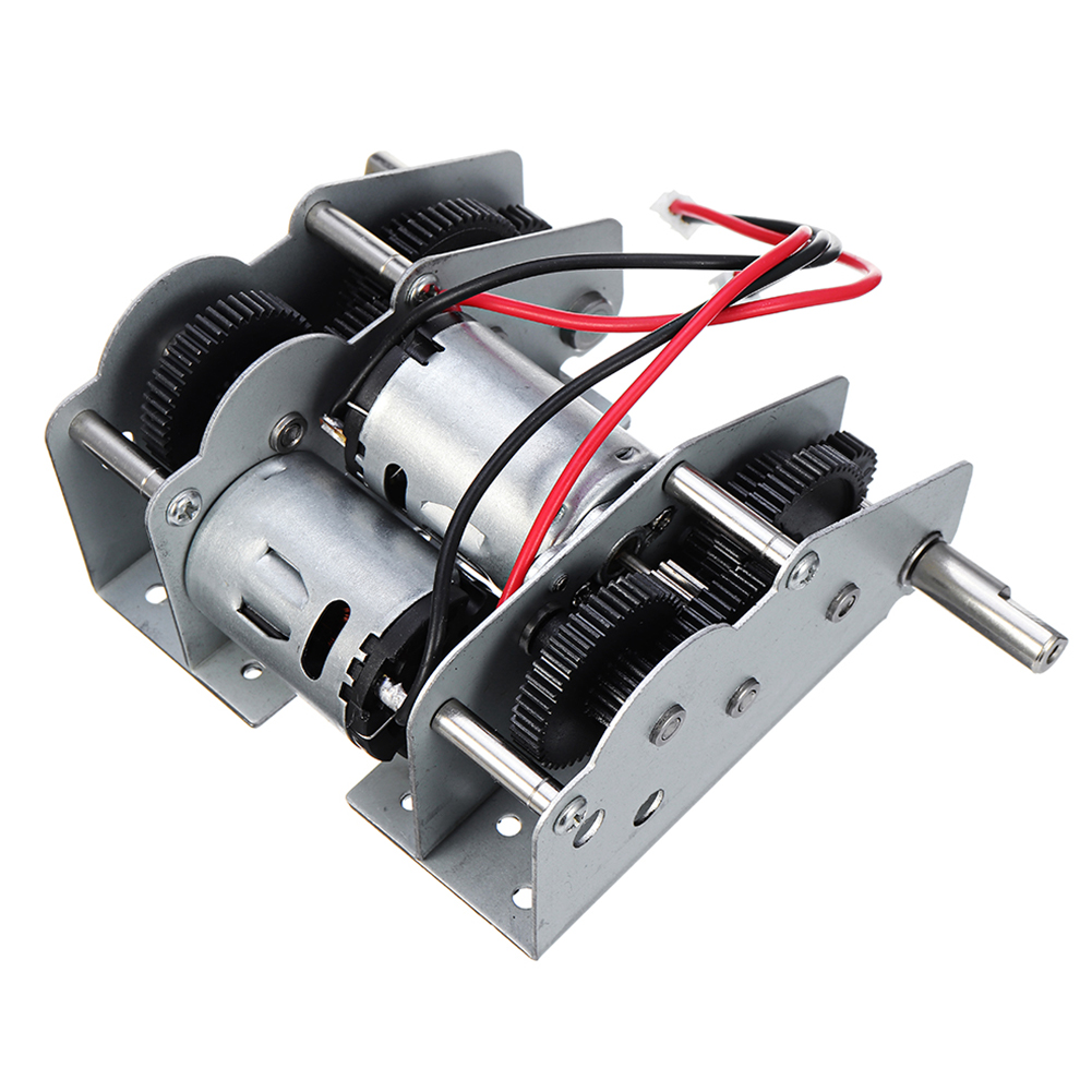 1:16 Universal Repair Stable High Speed Drive Gearbox Replacement With Bearing Parts Remote Control Tank All Metal For Heng Long