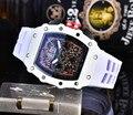 Горячая Марка класса люкс siliconce dz Авто Дата Неделя дисплей светящиеся часы для дайверов нержавеющая сталь наручные часы Мужские часы