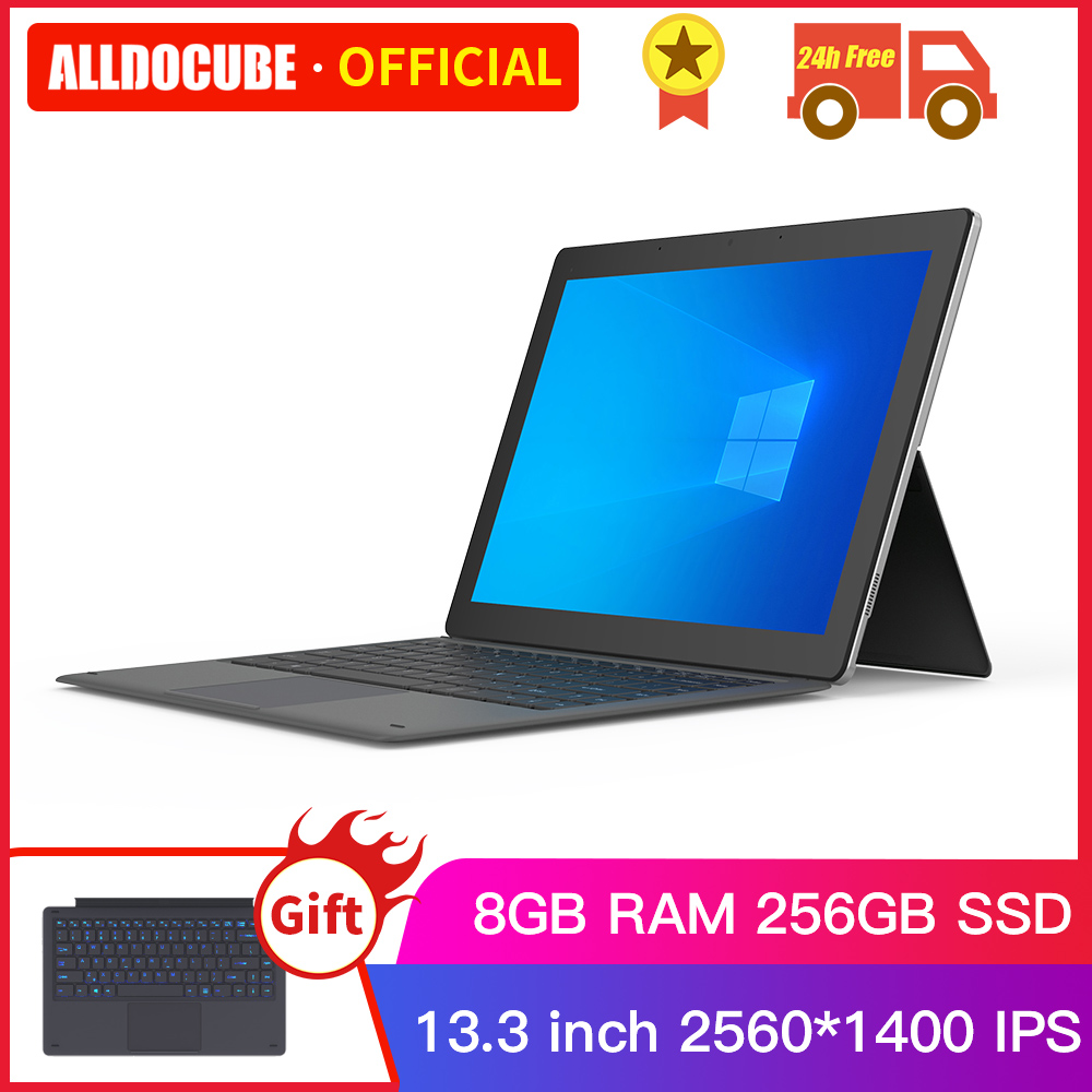 Alldocube KNote 8 Lite 13.3 Inch Intel Core-M Windows 10 Tablets PC M3-6Y30 Tablet PC 8GB+256GB SSD 2 IN 1