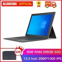 Alldocube KNote 8 Lite 13.3 inch Intel Core M Windows 10 Tablets PC M3 6Y30 Tablet PC 8GB+256GB SSD 2 IN 1