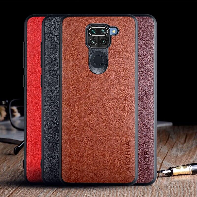 Case For Xiaomi Redmi Note 9 Luxury Vintage Leather Skin Capa Slot Phone Cover For Xiaomi Redmi Note 9 Case Funda Coque