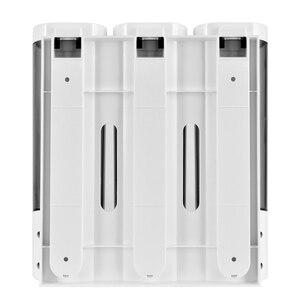 Image 5 - Soap Dispenser Wall Mount Shampoo Shower Gel Dispensers Triple Double Single Body Wash Dispenser For Bathroom Kitchen Toilet