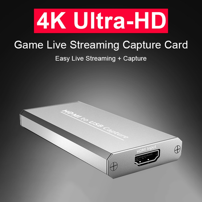 USB 3.0 1080P 4K HD Video Capture HDMI Game Capture Card Suitable for Game Live Broadcasts Video Recording Computer Accessories 1