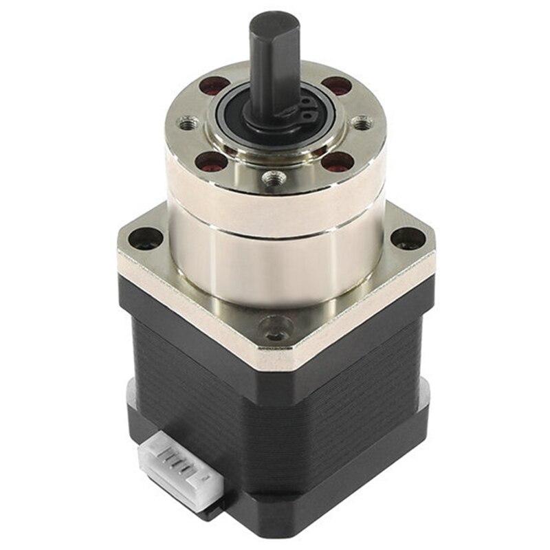 4-Lead Nema17 Stepper Motor 42 Motor Extruder Gear Stepper Motor Ratio 5.18:1 Planetary Gearbox Nema 17 17HS4401