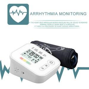 Image 1 - Цифровой тонометр для измерения артериального давления, медицинское оборудование, прибор для измерения давления, домашний ЖК монитор здоровья