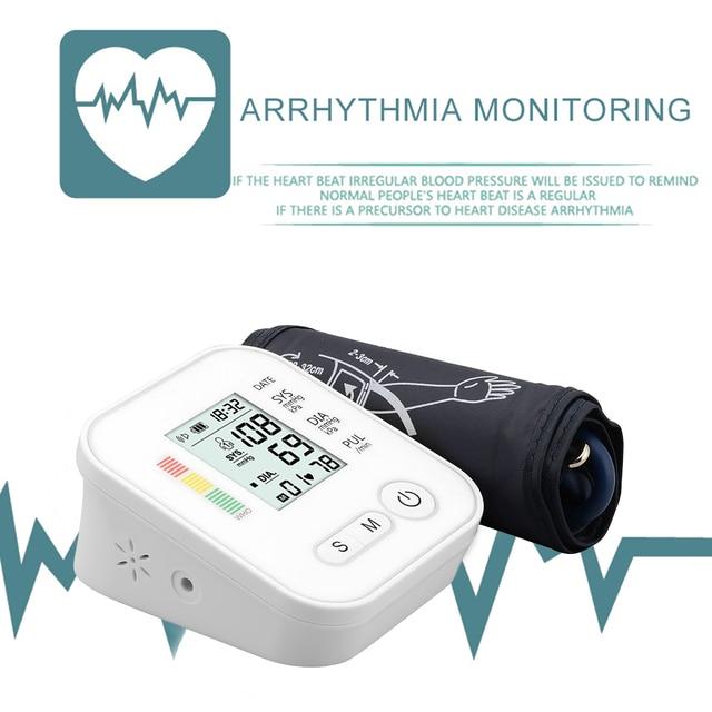 Цифровой тонометр для измерения артериального давления, медицинское оборудование, прибор для измерения давления, домашний ЖК монитор здоровья