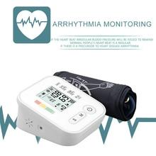 Cyfrowy ciśnieniomierz tonometr sprzęt medyczny ramię aparatura do pomiaru ciśnienia Home LCD Monitor zdrowia