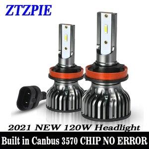 Image 1 - ZTZPIE 20000LM 60W 120W 6000K 9005/HB3 9006/HB4 H1 H8 H7 H4 H11 H9 Led Headlight Super Bright 3570 CHIP Car Fog Light Bulb 12V