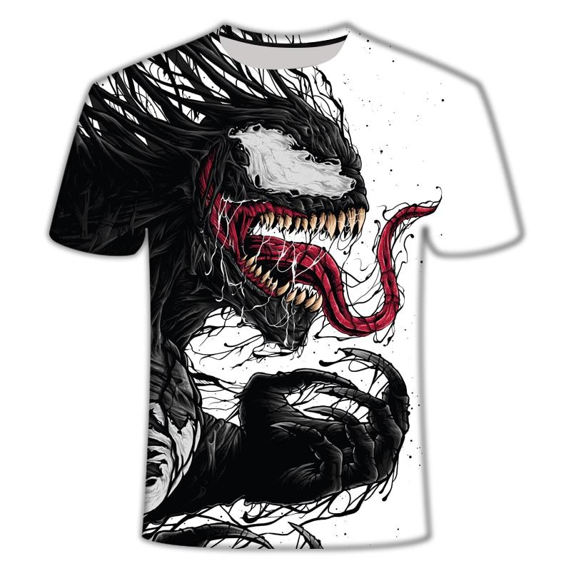 "Новинка, Мужская Футболка Venom, футболка ""Марвел"", 3D принт, футболка s, мужская, женская, Повседневная футболка, футболка для фитнеса, футболки, топы - Цвет: TX347"
