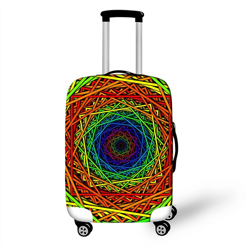 Color : Scorpio, Size : S JIANGXIUQIN-Bag Luggage Cover Signs of The Zodiac Travel Luggage Cover Spandex Suitcase Protector for 18-32 Luggage Luggage Protector 18-21