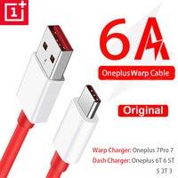 Original Für Oneplus Nord Warp Ladung Typ-C Dash Kabel 6A Schnelle Gebühr Für Eine Plus 8 7 Pro 7 t 7 T 6t 6 5t 5 3t 3 Warp Ladegerät