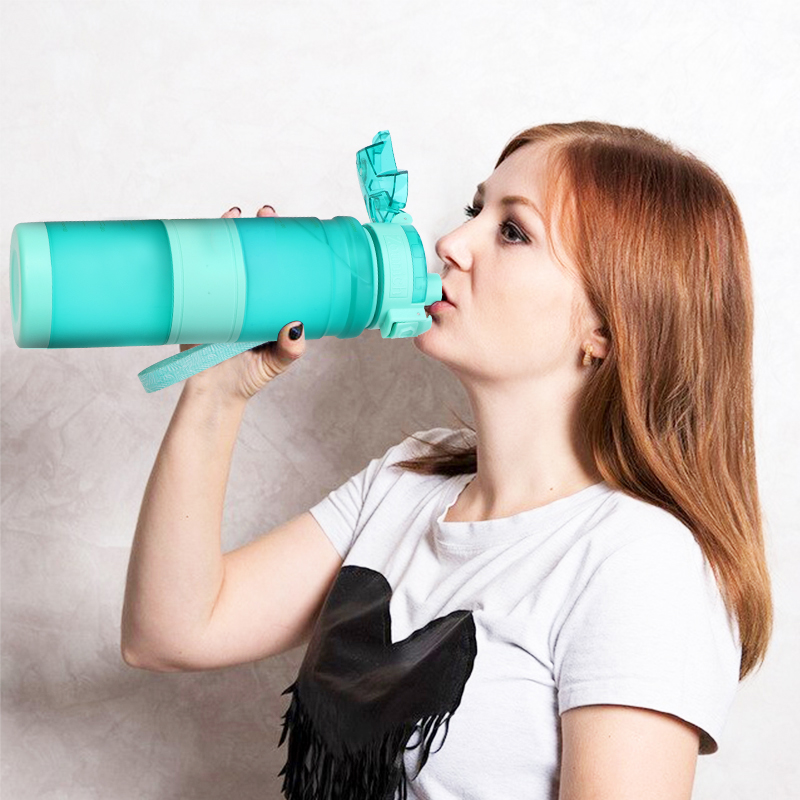 Zounich Sports Water Bottles 0.4 11L Protein  Outdoor Travel Portable Leakproof Tritan  Capacity Drink Bottle BPA Free 12Colors|Water Bottles|   - AliExpress