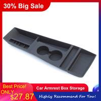 Newest Car Armrest Box Storage Center Console Organizer Containers Holder Box Car accessories For Tesla Model S